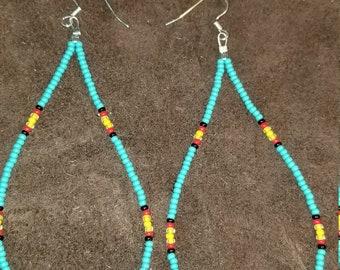 Cherokee tear drop earrings