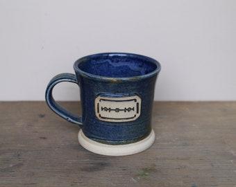 Double Edge DE Razor Blade Coffee Mug