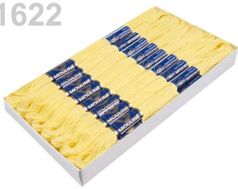 24 Dock embroidery/Stick Twist #1622 Limelight