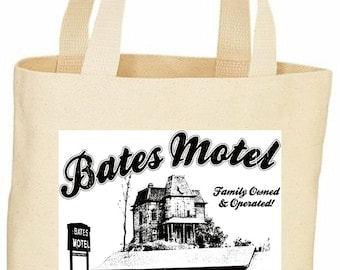 custom Bates Motel Psycho tote bag