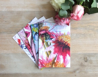 """Six pack – large 5""""x7"""" greeting cards"""