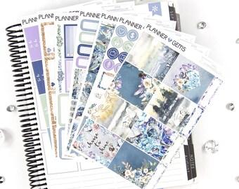 Shine Deluxe Weekly Planner Kit | 250+ Stickers | Planner Stickers | For Erin Condren LifePlanner