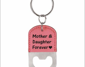 Mother and Daughter Forever Key chain - Gift for Mom from Daughter - Small Gifts for Mom - Mother's Day Gift, LKC014