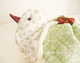 Bird Drawsrtings Bag - no.14
