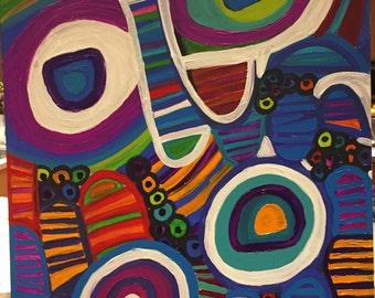 Robyn's Aboriginal like art