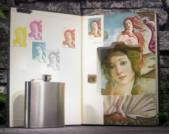 Hollow Book Safe and Hip Flask– Vintage 1979 - Bookmaking