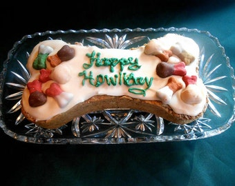 DOG BIRTHDAY, Pet Birthday Cake, Dog's Have Birthdays Too, Collectors Tin Holidays Birthdays Chicken Banana Yogurt Special Occasion