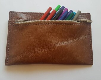 Leather Pen/Pencil Case