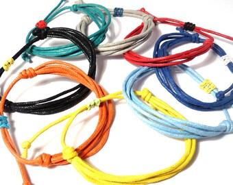 Cotton Cord Bracelets for Men, Women and Children