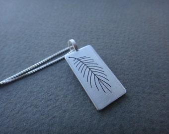 A Fir Branch Necklace