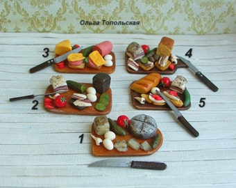 Miniature Food. Scale 1:12