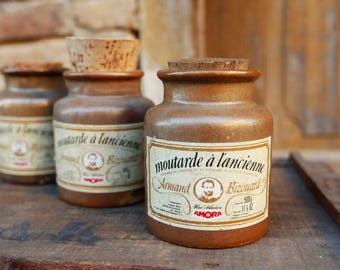 Vintage Amora - Vintage mustard - pot