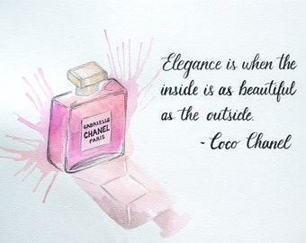 Chanel Perfume and Quote