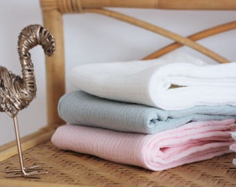 Trio grouse/diapers, Tropical Paradise, Flamingo