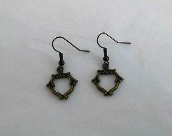"Earrings ""Art Nouveau"""