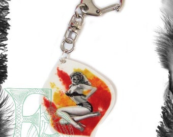 Sample Sale - Pin Up Keyring