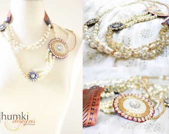 BESPOKE Maharani /// a versatile Necklace by Jhumki luxe - designs by raindrops