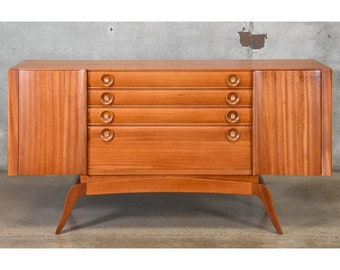 Mahogany Buffet by Gilbert Rohde for Brown Saltman (Q8Y735)