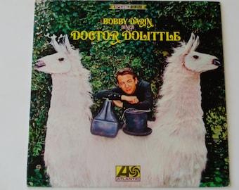 "Bobby Darin Sings Doctor Dolittle - ""Talk to the Animals"" - Roger Kellaway - Atlantic Records 1967 - Vintage Vinyl LP Record Album"
