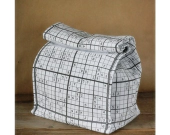 Insulated lunch bag - Sudoku