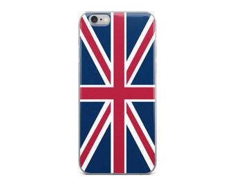 Union Jack British Flag iPhone 5/5s/Se, 6/6s, 6/6s Plus Case