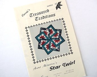 Star Twirl Quilt Pattern from Carrie's Treasured Traditions
