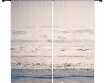 Gardinen - Home Decor, Strand, Meer, Wellen, Naturfotografie von RDelean Designs