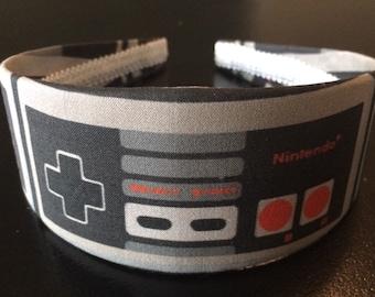 Nintendo Controller Headband, Geekery Headband, Geeky Headband, Videogame Headband, NES Headband