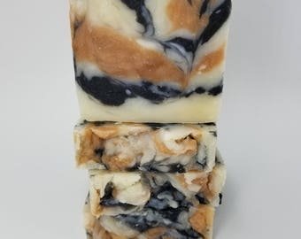 All Natural Moroccan Red Clay and Charcoal Detox Soap