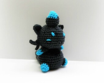 Crochet Zorua Inspired Chibi Pokemon