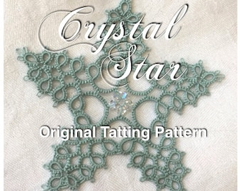 Crystal Star -  TATTING PATTERN