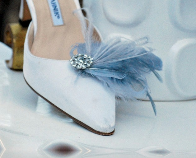 Shoe Clips Paloma Grey & Pearls. Wedding Bride Couture Bride Wedding Bridesmaids, Bridal EngageHommes t. Gray Ostrich Feathers, StateHommes t Fashion  r Gift 62200c