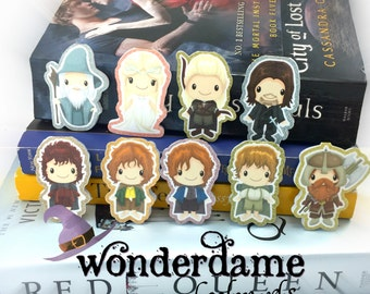 Lord of the Ring Inspired Bookmarks