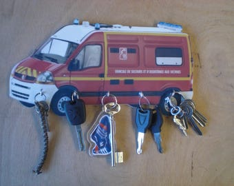 key wall support rescue Fire Chief
