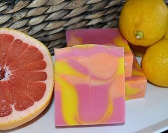 Grapefruit & Lemongrass Soap