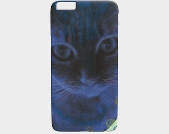 Blue Cat Phone cover