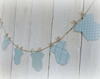 Baby Shower Decoration, Baby Shower Banner, It's A Boy, First Birthday Decorations, Baby Photo Prop, Baby Onesie, Baby Boy Shower Decor