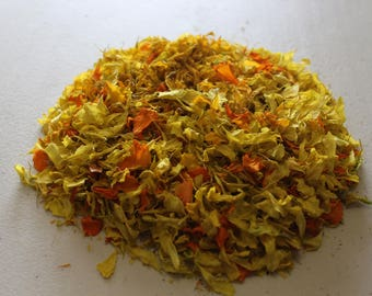 Natural Marigold Wool Dye 5 oz. Bag
