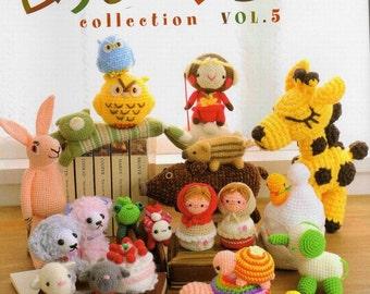 Amigurumi collection vol.5 - PDF CROCHET PATTERNS