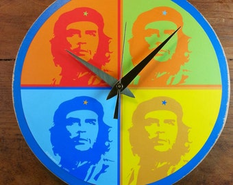 CHE Pop Art Wall Clock