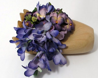 Purple Hues - Nosegay/Small Bouquet/Tussie Mussie/Corsage