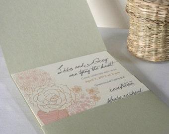 Custom Wedding Invitation Suite