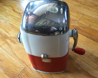 "1950's Ice-O-Mat Ice Crusher, ""Vogue"" Model"