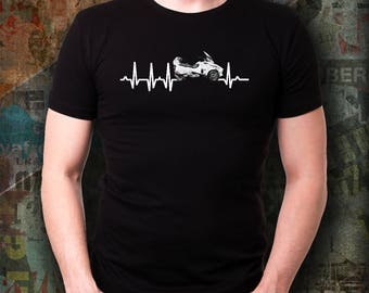 I'm rider can-am spyder RT  My Heart Beats for can-am spyder Rt  t-Shirt Heartbeat