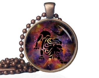 Leo Zodiac Jewelry - Zodiac Jewelry Leo - Zodiac Gifts for Leo - Leo Zodiac Necklace - Lion Necklace - Zodiac Jewelry Gift - Leo Pendant