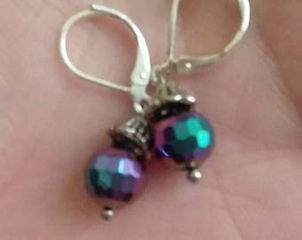 Multicolored Disco Ball Earrings