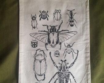 Cotton Drawstring Beetles Pouch