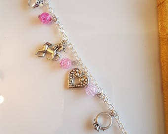 Pretty Pink Princess Bracelet