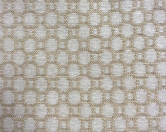 CHENILLE in cashmere ivory woven multipurpose fabric