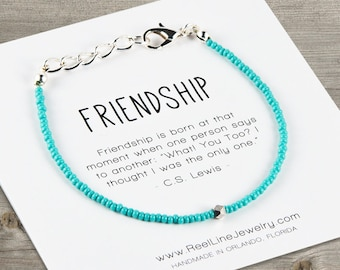 Geometric Friendship Beaded Bracelet, Best Friend Bracelet, Friend Bracelet, Best Friend Bracelet, Gift for Friend, Friendship Gifts